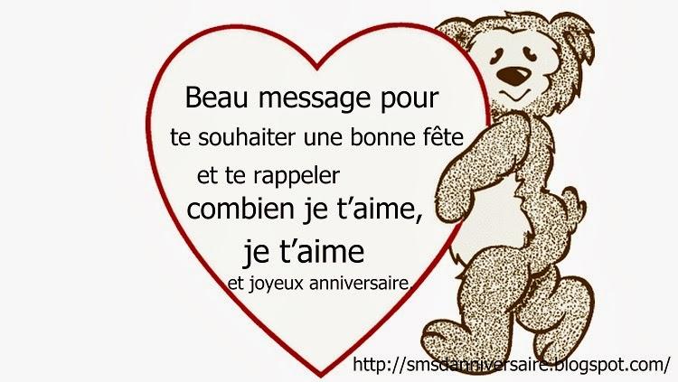 Message anniversaire soeur de coeur