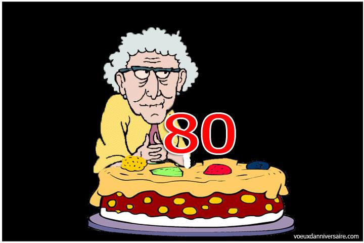 Texte anniversaire 80 ans ami