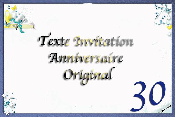 Texte original pour anniversaire de mariage