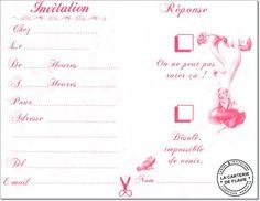 Carte D Invitation Anniversaire Danseuse Gratuit Elevagequalitetouraine