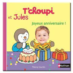 Tchoupi carte anniversaire
