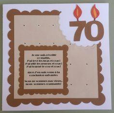 Texte carte anniversaire femme 70 ans