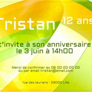 Texte carte anniversaire 12 ans