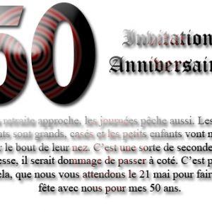 Carte Anniversaire 50 Ans Gratuites Elevagequalitetouraine