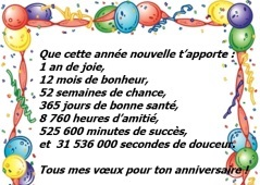 texte pour carte d anniversaire Carte d anniversaire texte   Elevagequalitetouraine