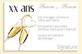 Texte pour invitation anniversaire de mariage 70 ans