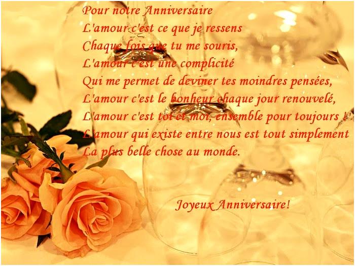 Texte anniversaire mariage 5 ans