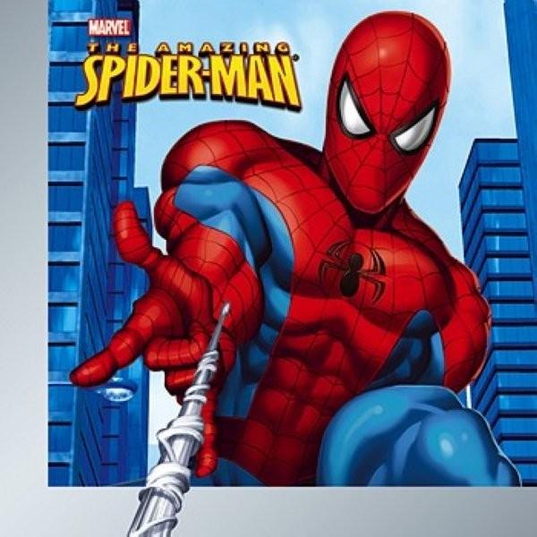 Carte virtuelle anniversaire spiderman gratuite