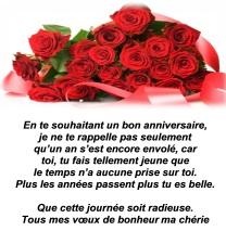 Texte anniversaire pour son amour
