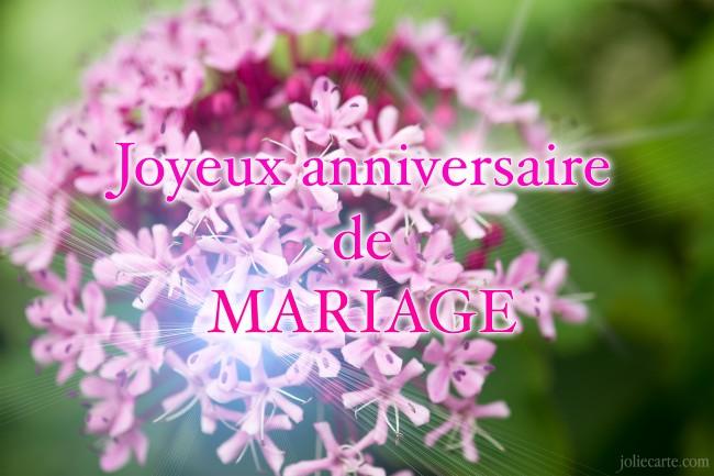 Texte anniversaire de mariage des parents