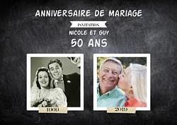 Texte faire part 50e anniversaire de mariage