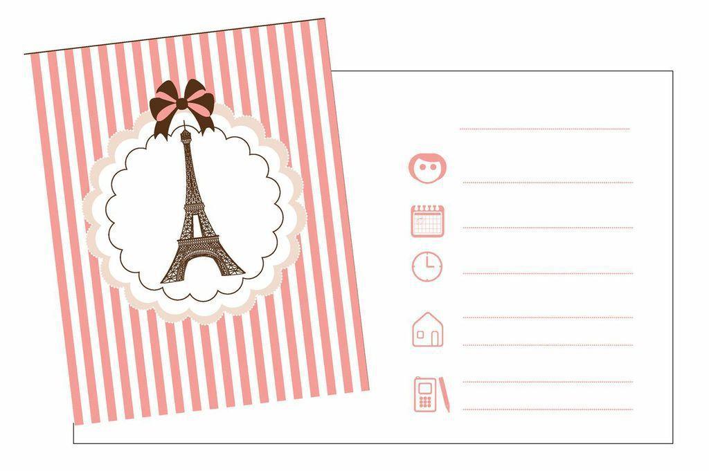 Carte anniversaire invitation fille gratuite