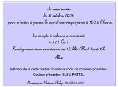 Carte D Invitation Texte Anniversaire Elevagequalitetouraine
