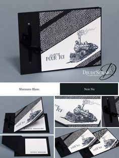 Tuto carte anniversaire homme stampin up