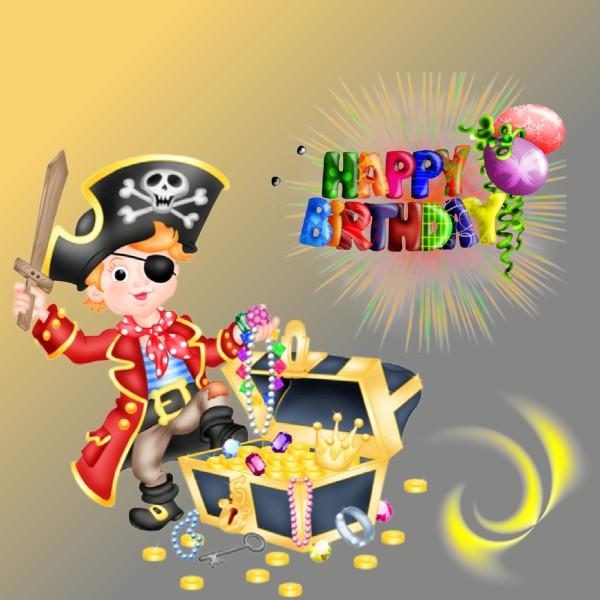 Carte Anniversaire Enfant Pirate Elevagequalitetouraine