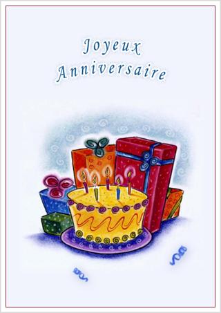 Carte à imprimer gratuitement anniversaire