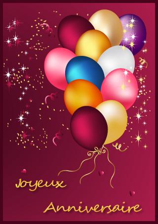 Joyeux Anniversaire Carte Gratuite A Imprimer Elevagequalitetouraine
