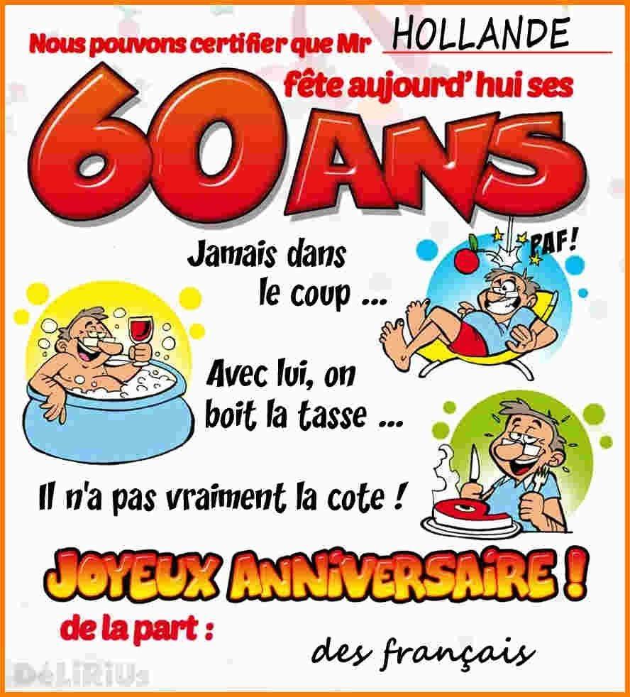 Carte Anniversaire De 60 Ans Gratuite A Imprimer Elevagequalitetouraine