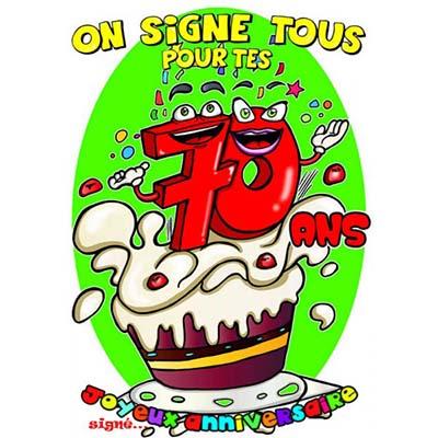 Message anniversaire 70 ans humoristique