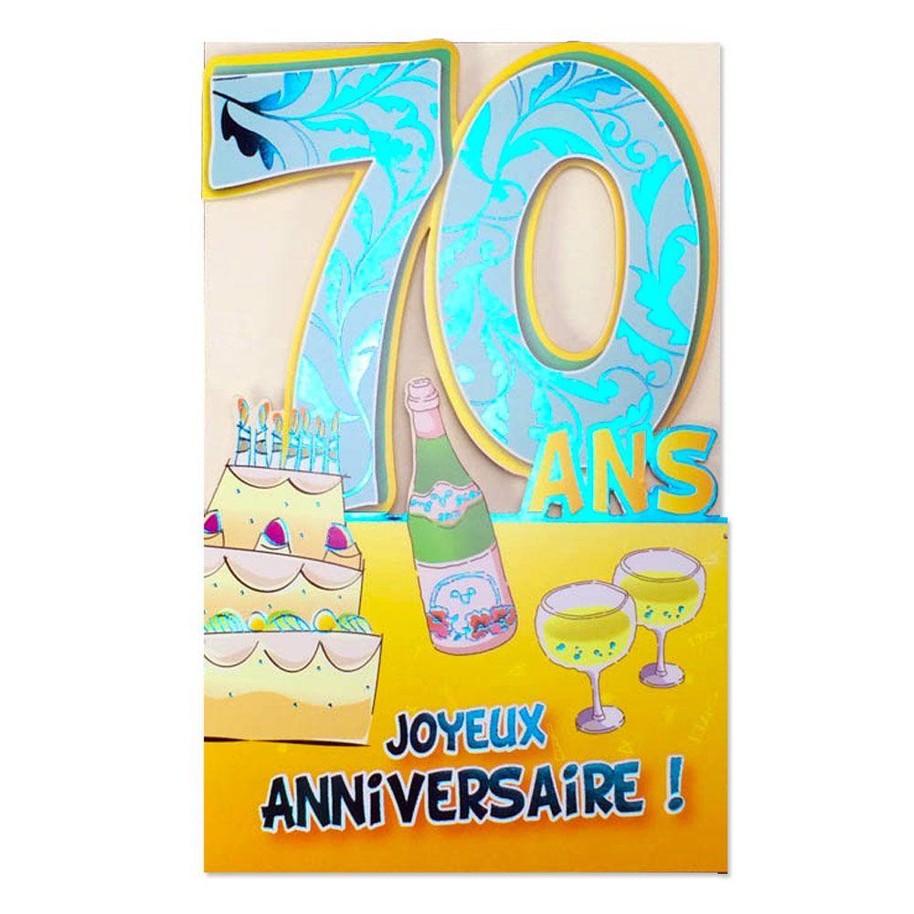 Carte Anniversaire 70 Ans Homme A Imprimer Gratuitement Elevagequalitetouraine