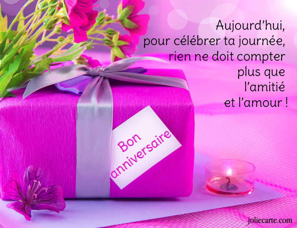 Jolie carte .com anniversaire pour 50 ans
