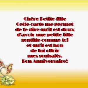 Texte Carte Anniversaire 9 Ans Fille Elevagequalitetouraine