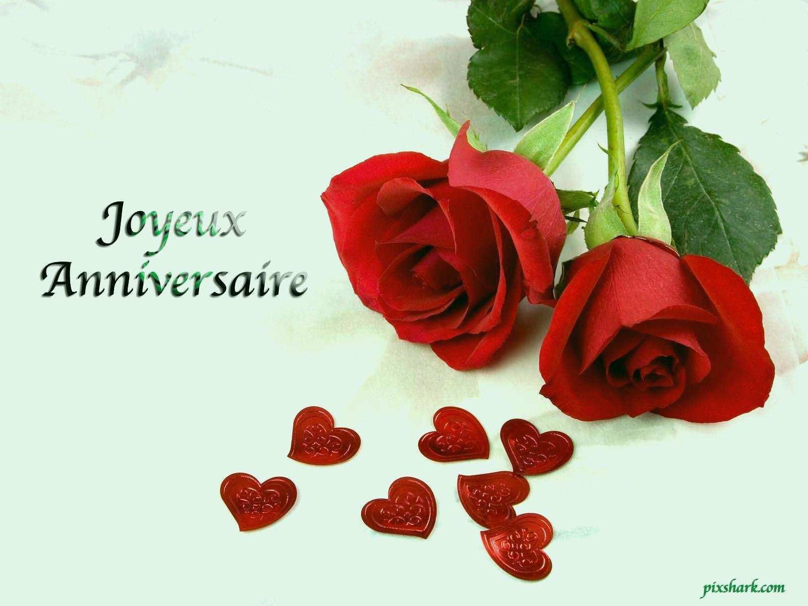 Carte anniversaire fleurs pour femme