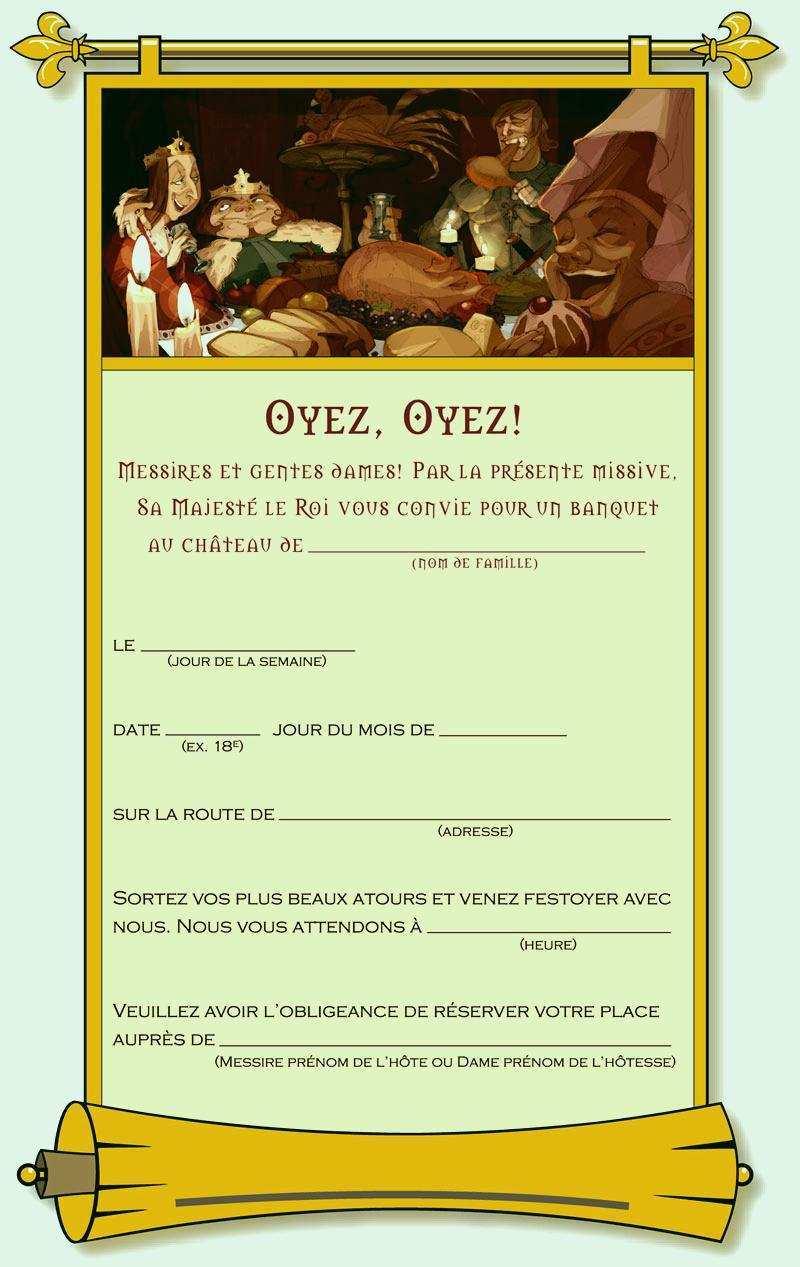 Carte invitation anniversaire koh lanta a imprimer