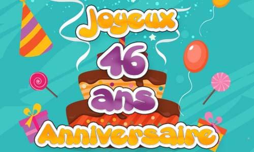 Carte anniversaire 64 ans gratuit