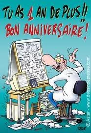 Carte anniversaire 57 ans gratuite imprimer