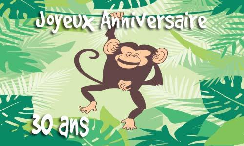 Carte invitation anniversaire à imprimer gratuit