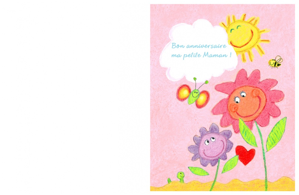 Carte Bon Anniversaire Maman A Imprimer Elevagequalitetouraine