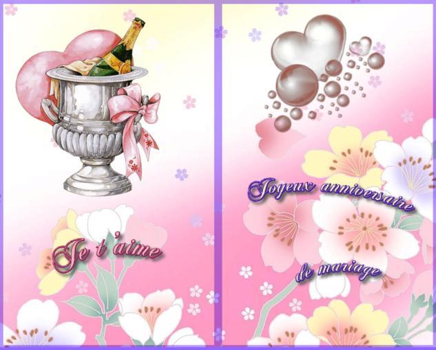 Imprimer Carte Anniversaire Mariage Gratuite Elevagequalitetouraine