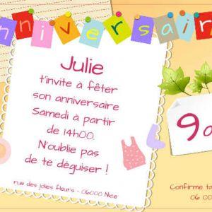 Texte anniversaire petite fille de 10 ans