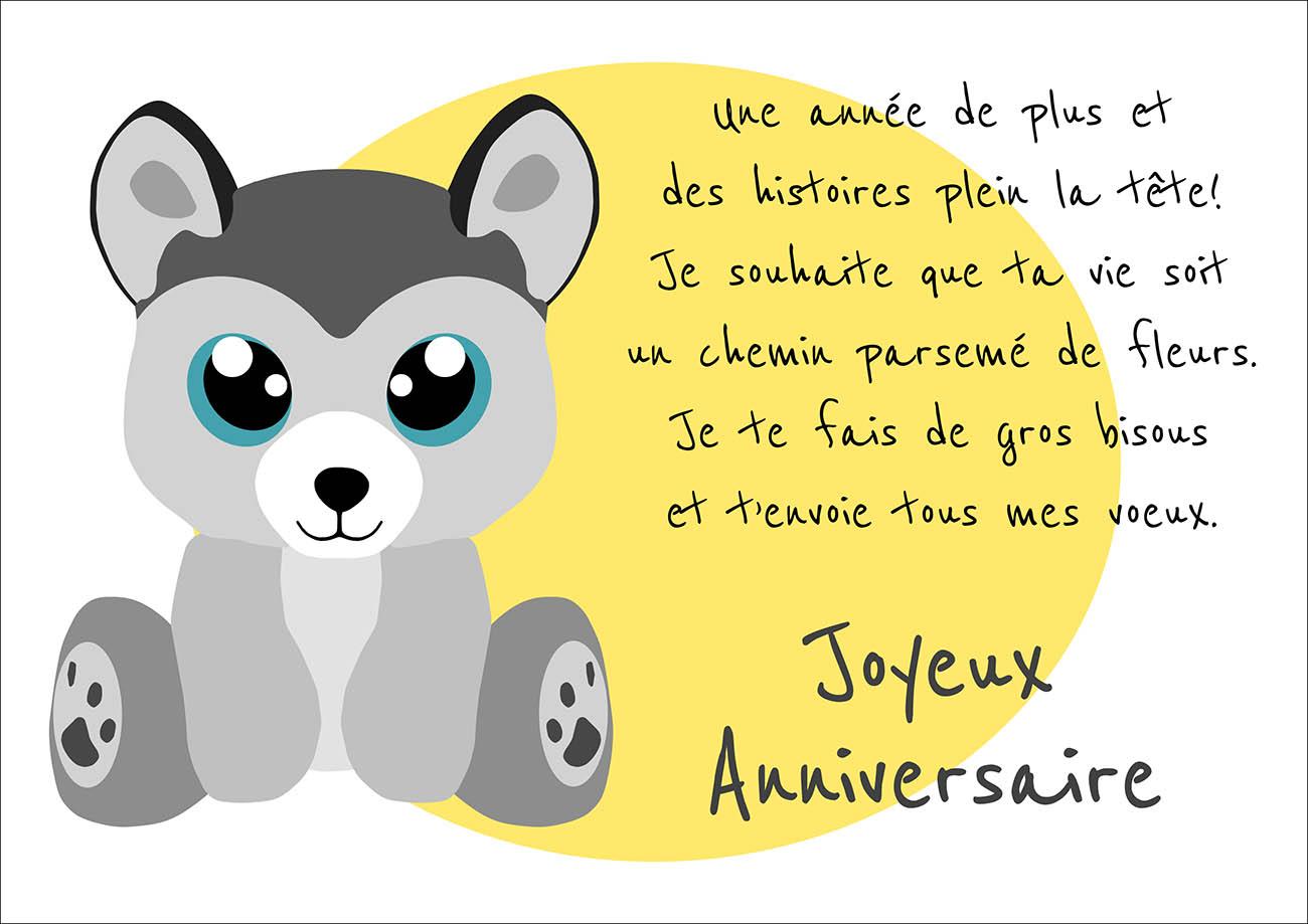texte pour carte d anniversaire Texte de cartes d anniversaire   Elevagequalitetouraine