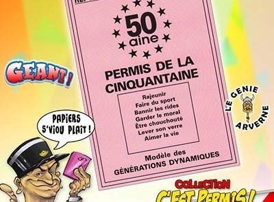 Carte anniversaire à imprimer 50 ans humoristique