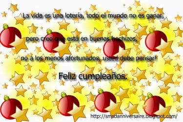 Carte invitation anniversaire en espagnol