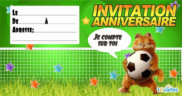Carte anniversaire foot animée gratuite