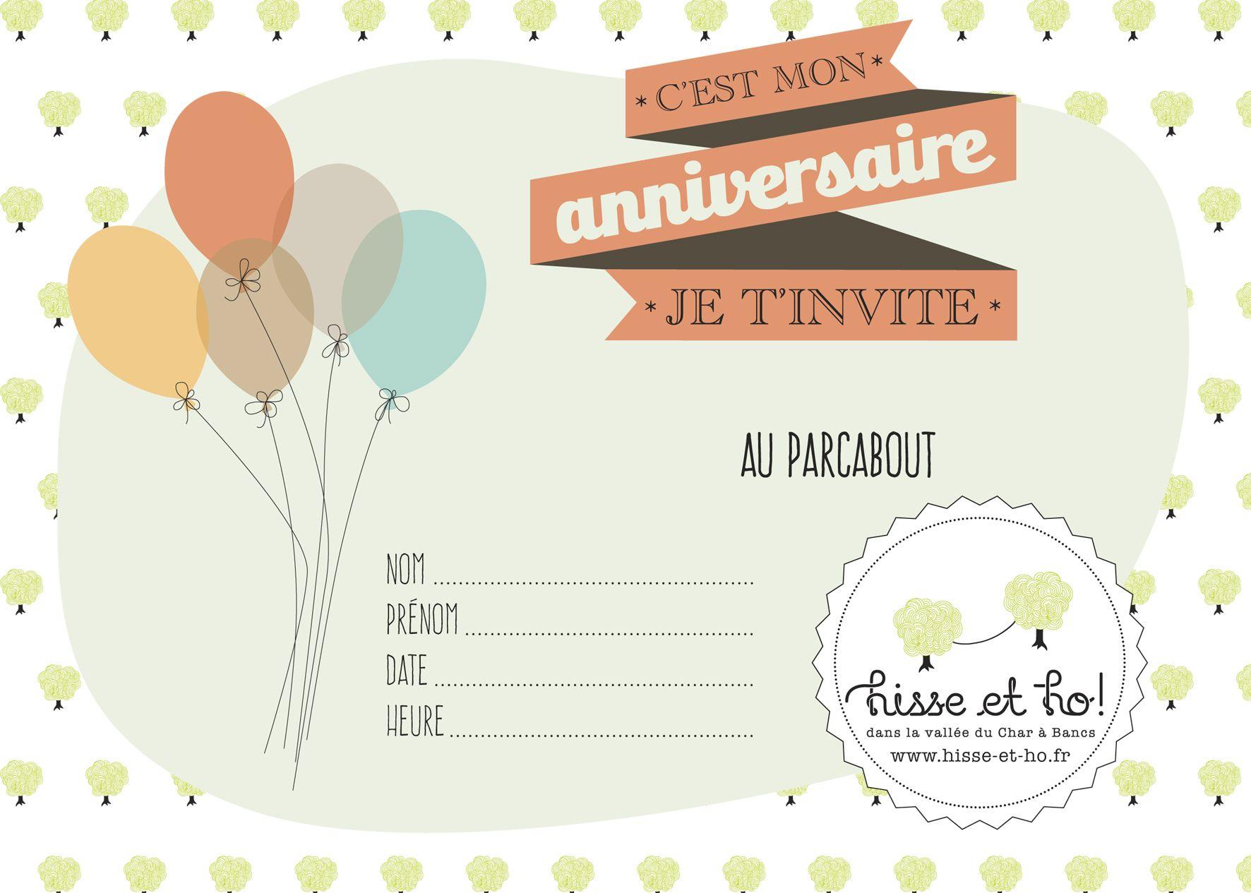 Carte anniversaire à imprimer 11 ans