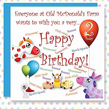 Carte anniversaire quick