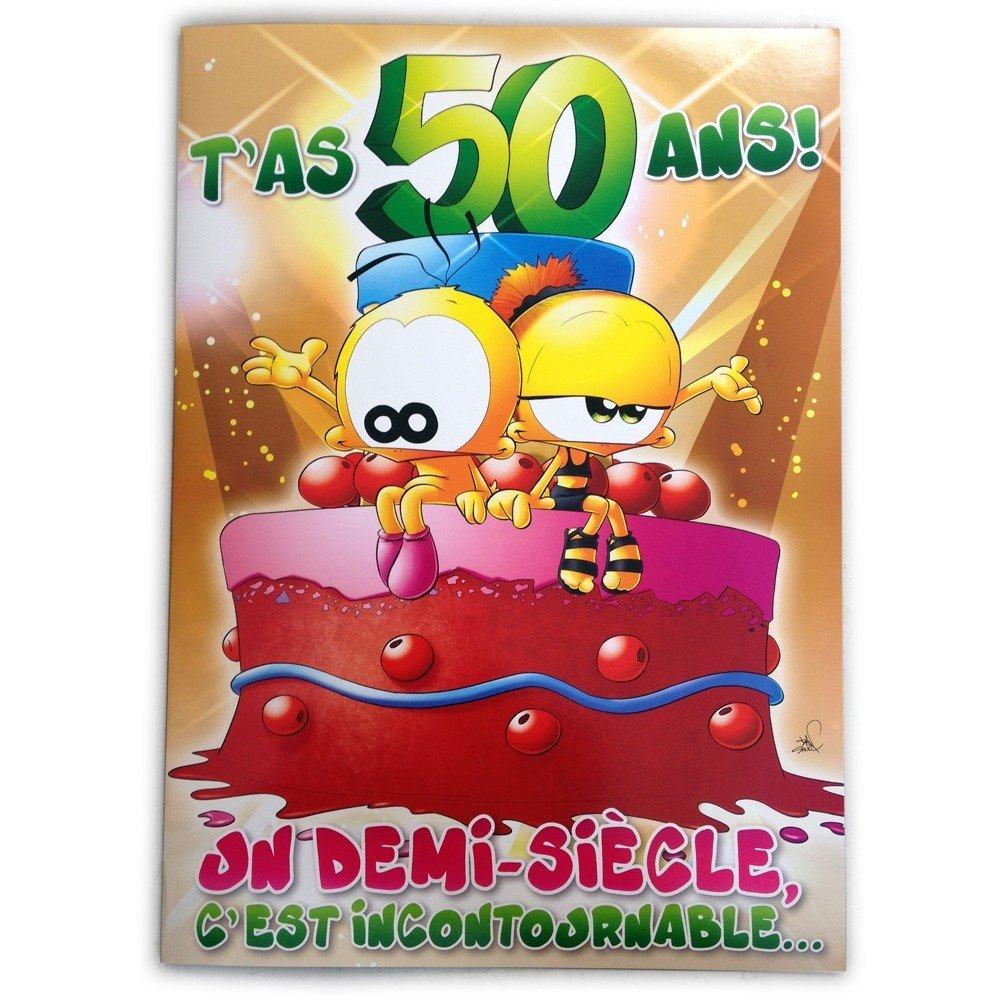 Dromadaire carte virtuelle gratuite anniversaire 50 ans