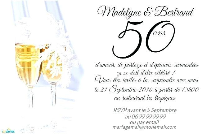 Texte invitation anniversaire de mariage 40 ans gratuit