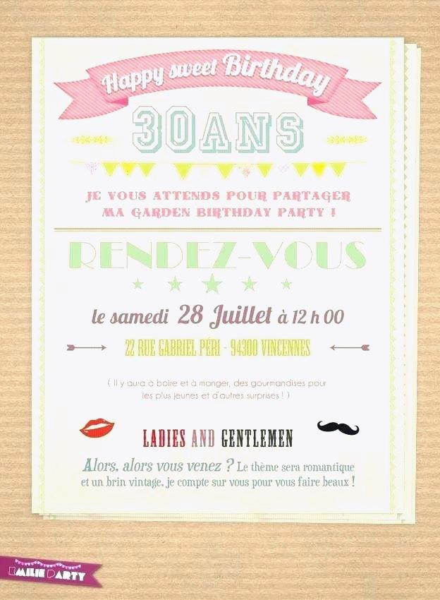 Carte invitation anniversaire 40 ans vintage