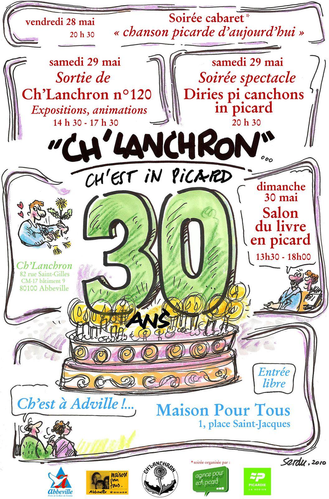 Carte humour anniversaire 30 ans