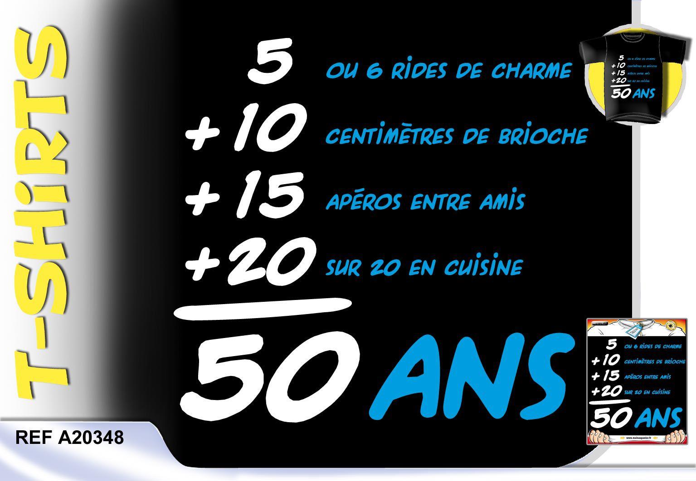 Carte anniversaire humoristique 50 ans femme gratuite à imprimer