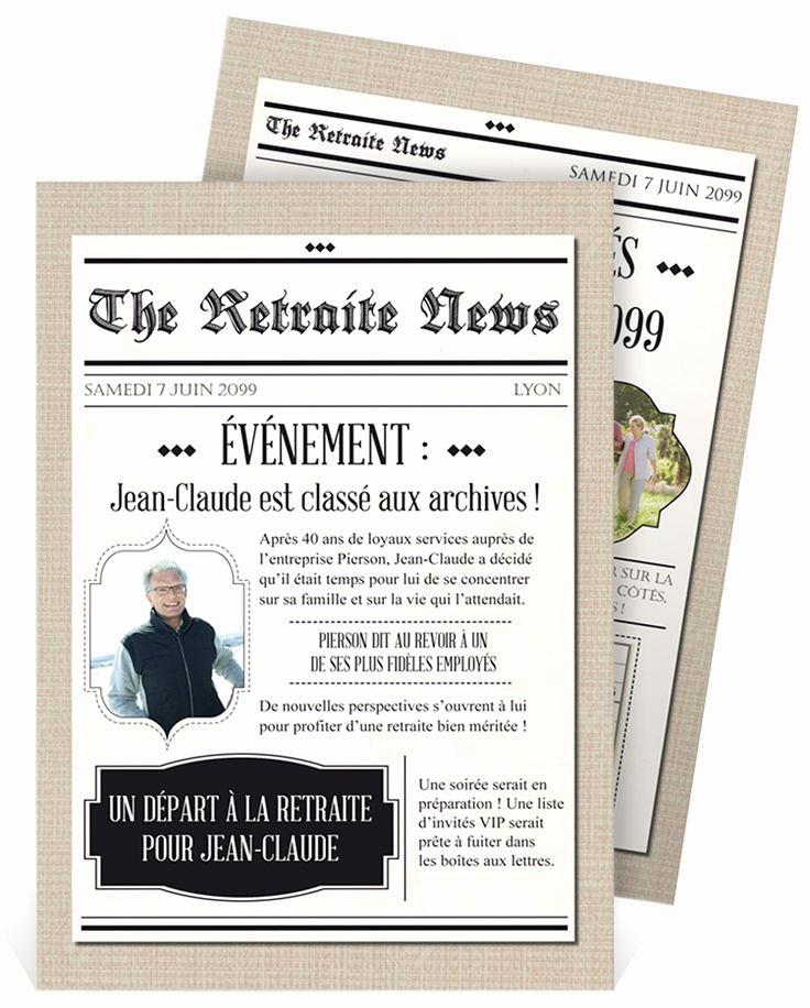 Carte D Invitation Anniversaire 60 Ans Et Retraite Elevagequalitetouraine