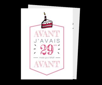 Carte d'invitation anniversaire 30 ans homme - Elevagequalitetouraine
