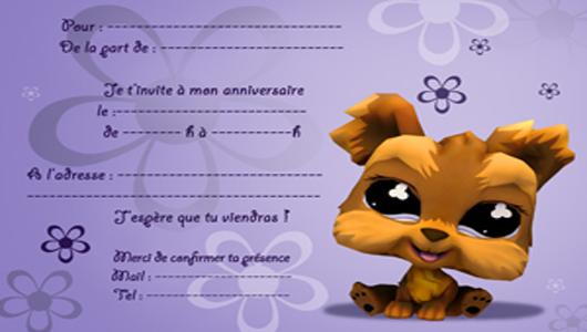 Carte D Invitation Anniversaire Gratuite A Imprimer Avec Animaux Elevagequalitetouraine