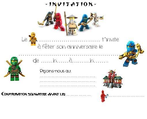 Carte invitation anniversaire garçon star wars