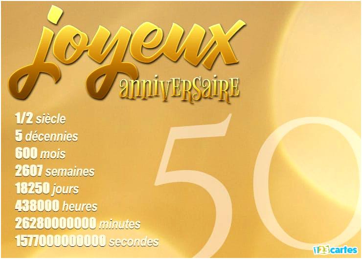 Carte Anniversaire Mariage 50 Ans Gratuite Imprimer Elevagequalitetouraine